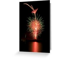 Fireworks gone wrong Greeting Card