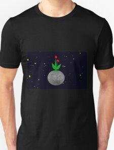 Terraforming, gardens on the moon.  T-Shirt