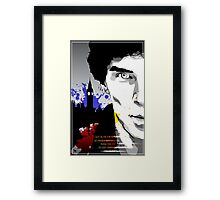 The Side of Angels Framed Print