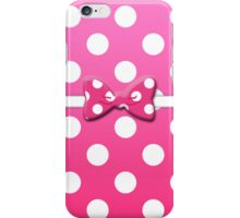 Minnie Pink iPhone Case/Skin