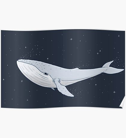 The Whale In The Night Poster