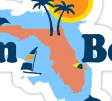 Palm Beach - Florida.  Sticker