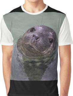 Common Seal Pup Graphic T-Shirt