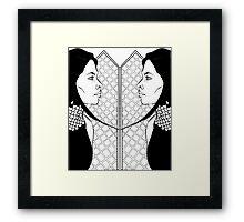 SYMMETRY Framed Print