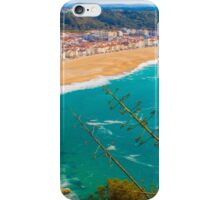 Nazaré beach. where the biggest waves on earth happen. iPhone Case/Skin