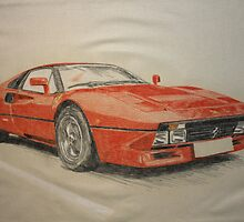 ferrari 288 gto by Peter Brandt