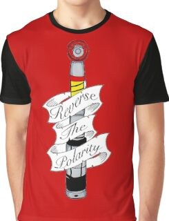 """Reverse The Polarity"" Graphic T-Shirt"