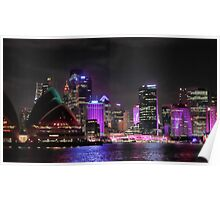 Vivid Sydney - from Opera to Art Poster