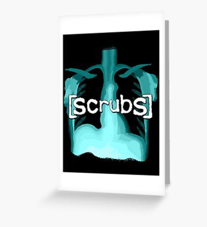 Scrubs Greeting Card