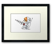 Astronaut Teemo Framed Print