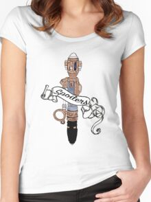 River Song's Sonic. Women's Fitted Scoop T-Shirt