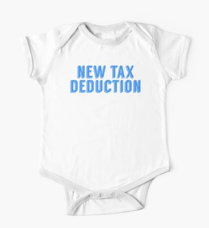 New Tax Deduction One Piece - Short Sleeve