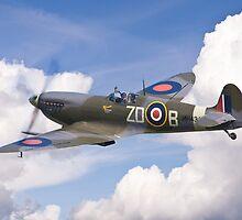 Spitfire Pass by Ian Merton