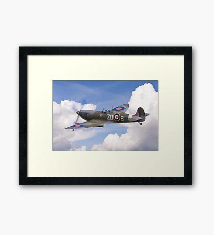 Spitfire Pass Framed Print