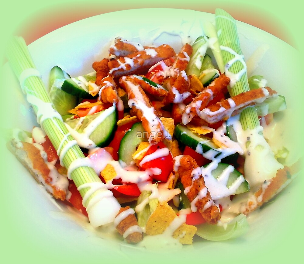 Chicken Cesar Salad  by ©The Creative  Minds