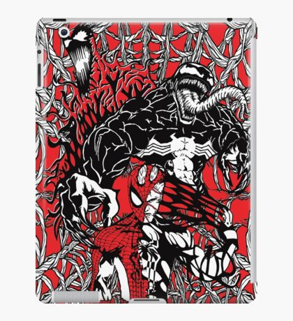 Spider-Man venom in colour iPad Case/Skin