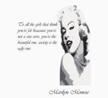 Marilyn Monroe by NaughtyBear