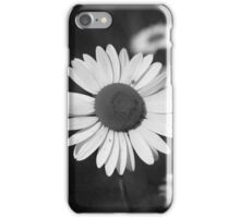 Daisy in Black and White iPhone Case/Skin