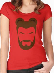 BEARMAN Women's Fitted Scoop T-Shirt