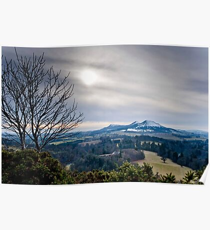 Scott's View, The Eildons, Scottish Borders Poster