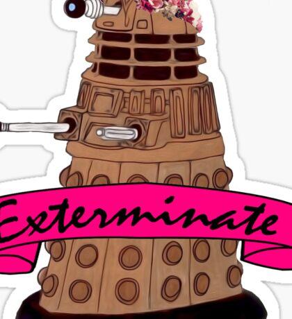 Hipster Dalek. Sticker