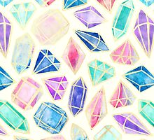 Watercolor Gems Intense by Tangerine-Tane