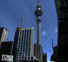 Sky Tower by cadellin