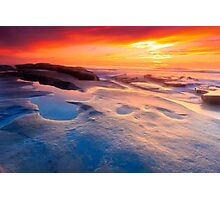 San Diego Beach Sunset Photographic Print