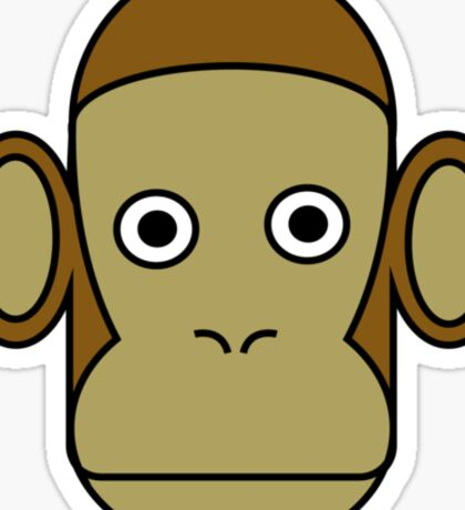 Mr Monkey Sticker