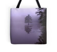 Cypress Tree Morning Tote Bag