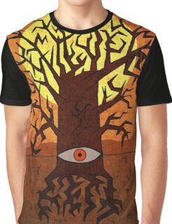 All-seeing Tree Graphic T-Shirt