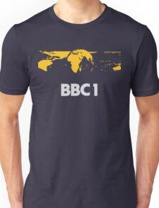 Retro BBC1 world globe ident Unisex T-Shirt