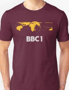 Retro BBC1 world globe ident T-Shirt