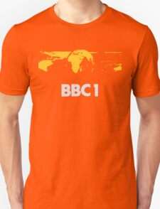 Retro BBC1 world globe ident Unisex T-Shirt