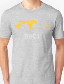 Retro BBC1 world globe ident T-Shirt
