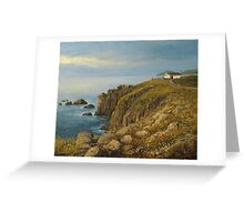 Land's End in Cornwall Greeting Card