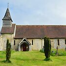 Church of St. Peter ad Vincula, Colemore. by relayer51