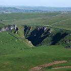 Winnats Pass from Mam Tor 2 by Paul  Green