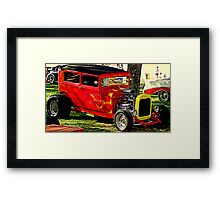 Park Side Show Framed Print