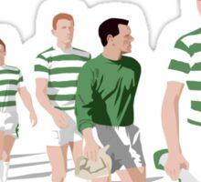 Lisbon Lions - Champions 67 (Green text) Sticker