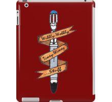 Wibbly-Wobbly Sonic. iPad Case/Skin
