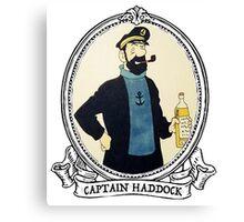 Captain Haddock Canvas Print