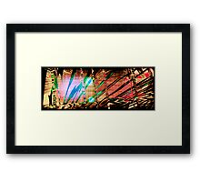 Nomanu #3 // Stripes Framed Print