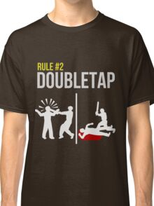 Zombie Survival Guide - Rule #2 - Doubletap Classic T-Shirt