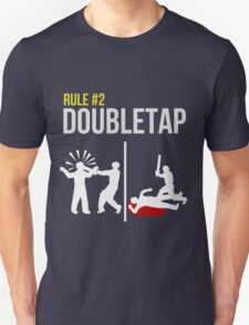 Zombie Survival Guide - Rule #2 - Doubletap T-Shirt