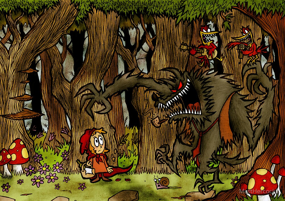 Red Riding Hood  by MattHercock1