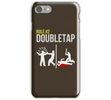 Zombie Survival Guide - Rule #2 - Doubletap iPhone Case/Skin