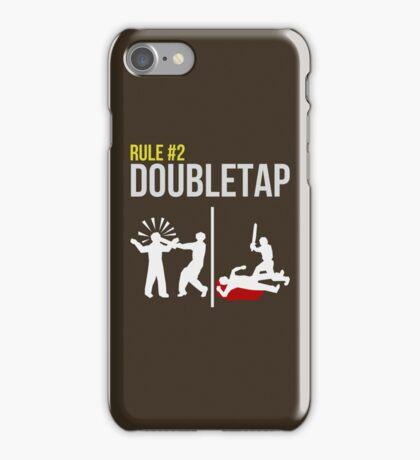 Zombie Survival Guide - Rule #2 - Doubletap iPhone Case/Skin