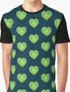 Zombie Heart Graphic T-Shirt