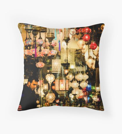 Luminescent Throw Pillow
